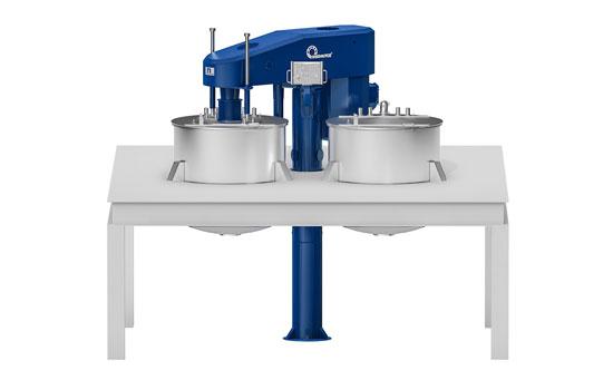 Deckeneinbau KDV in blau