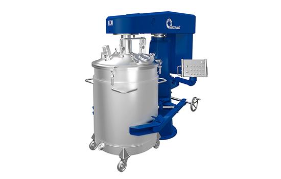 Kreis-Basket-Mill® gasdichtes Deckelsystem in blau